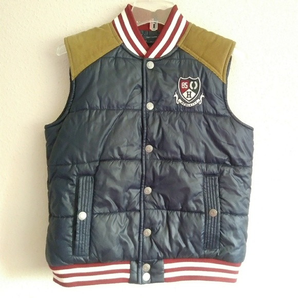 0e017db2 Tommy Hilfiger Jackets & Coats | Boys Quilted Puffer Rufus Vest ...